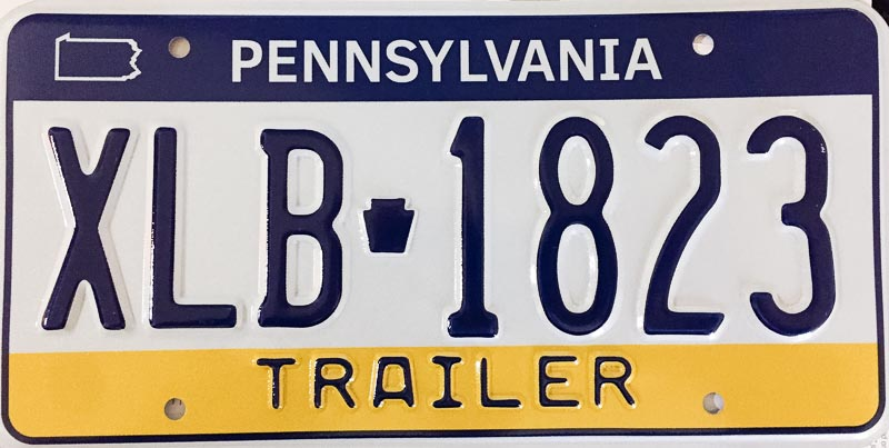 Replacing your Pennsylvania License Plate for Free, New License Plate